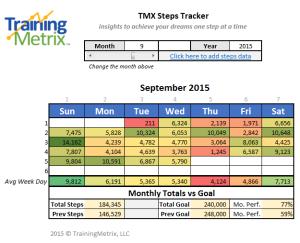 TMX-Steps