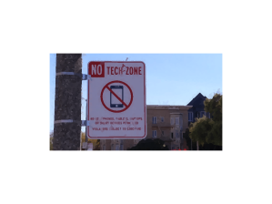 No Tech Zone for sanity